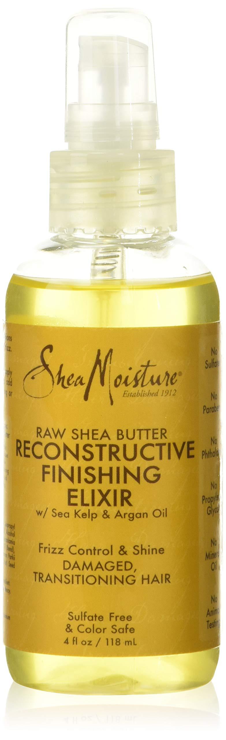 Shea Moisture Raw Shea Butter Reconstructive Finishing Elixir 4 Oz