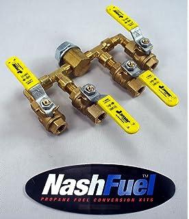 """3//4/"""" NPT  X 4/"""" Carlin 9938440XX EZ-Gas GAs Burner Gas Line Nipple"""