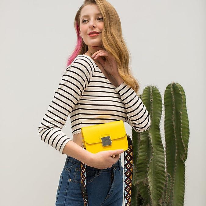 Amazon.com: Herald moda solapa bolso crossbody bolsas para ...