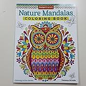 Nature Mandalas Coloring Book Design Originals Amazones