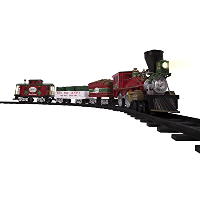 Lionel North Pole Central Battery-powered Model Train Set Ready to Play w/ Remote: Toys & Games