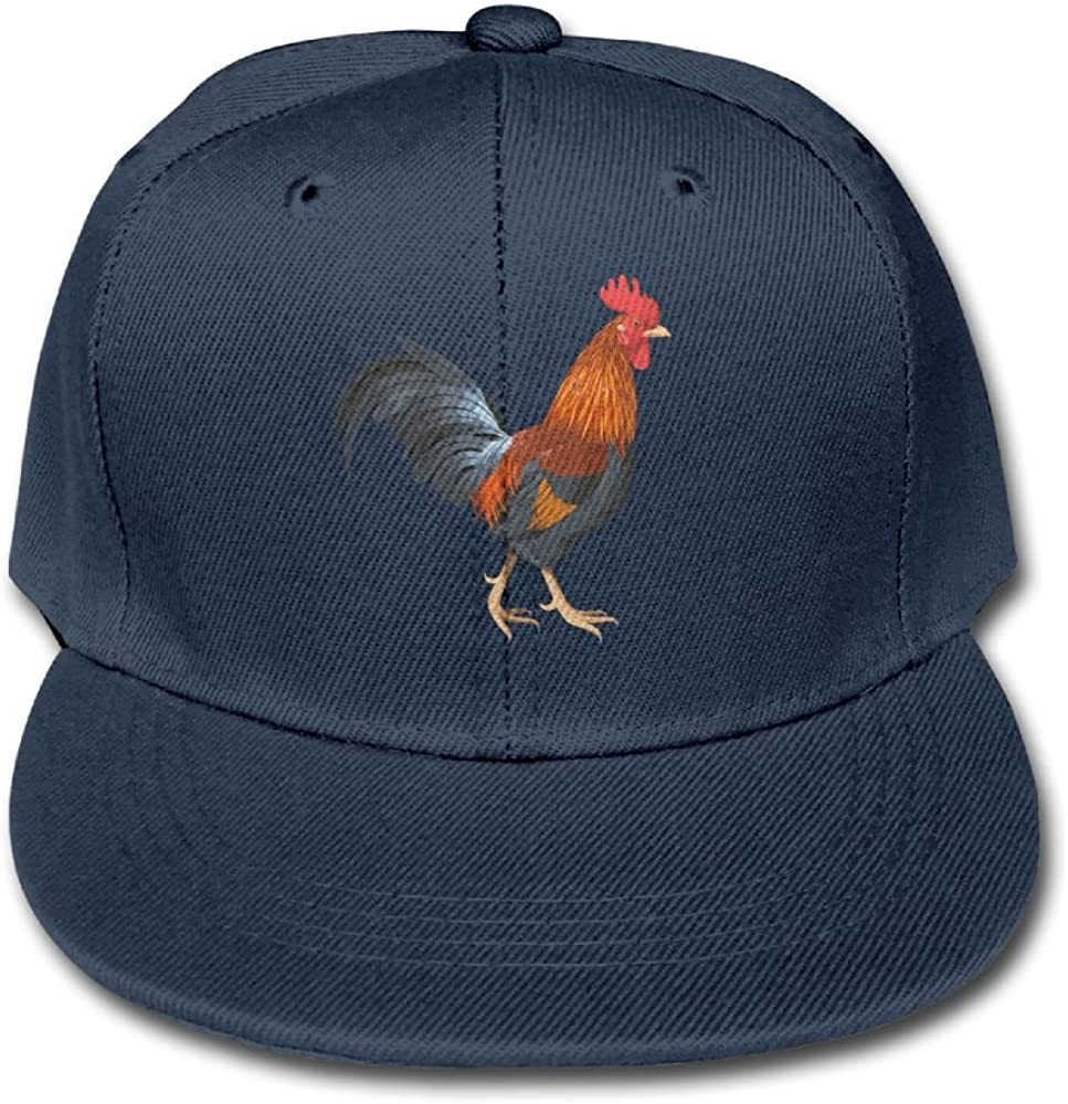 Z Cheing Adjustable Boy/&Girls Rooster Cock Kid Baseball Caps Solid Color Hats