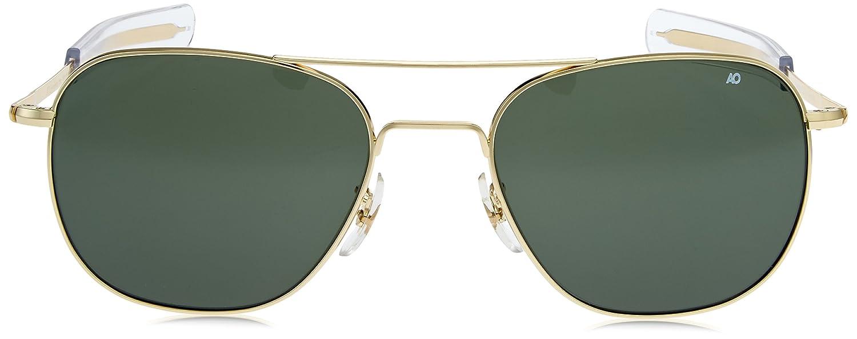 Gafas American Optical dorada 57 Polarizada