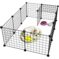 Pet Dog Dog Kennel Dog Cage Pet Cage Dog Pen Dog Fence Pet Playpen Metal,Metal Pet Folding Playpen Fence Exercise Cage…