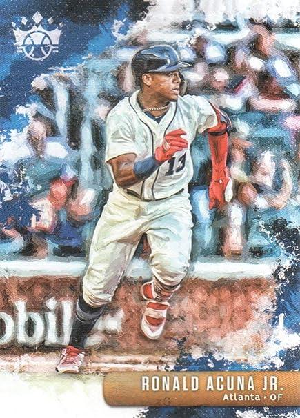 brand new eb551 69d29 2019 Diamond Kings Baseball #40 Ronald Acuna Jr. Atlanta ...