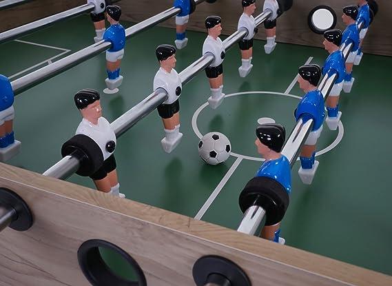Mendler London - Mesa de futbolín, plegable, color negro: Amazon.es: Hogar