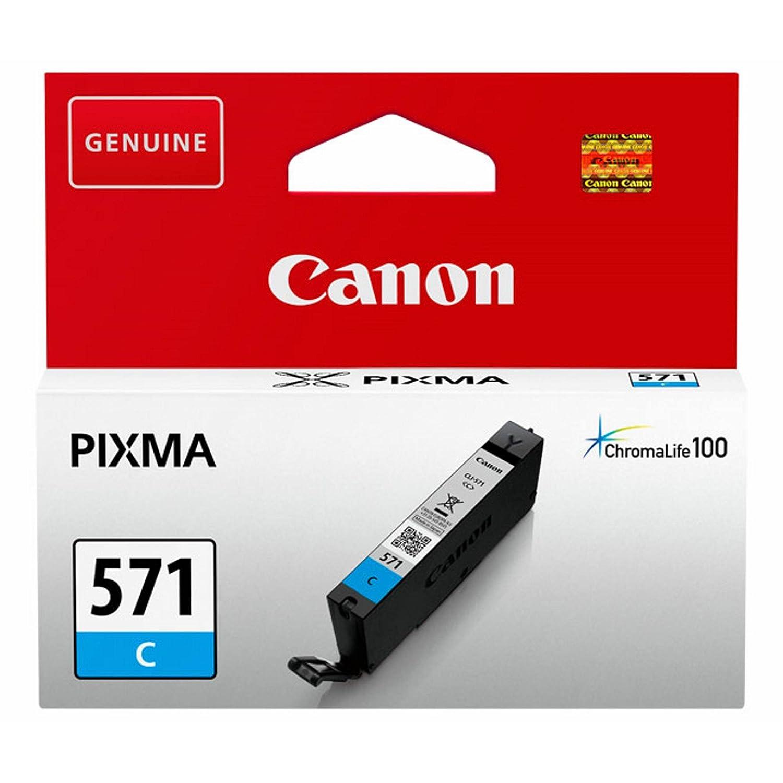 Canon CLI-571 Cartucho de tinta BK para Impresora de Inyeccion de tinta Pixma TS5050,5055,5053,5051,6050,6051,8050,8053,8052,8051,9055,9050MG5750,5751...