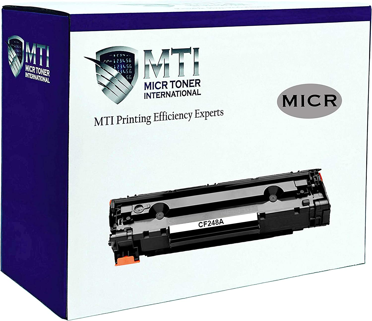 MICR Toner International Compatible Magnetic Ink Cartridge Replacement for HP CF248A 48A Laserjet Pro M15 M16 M28 M29