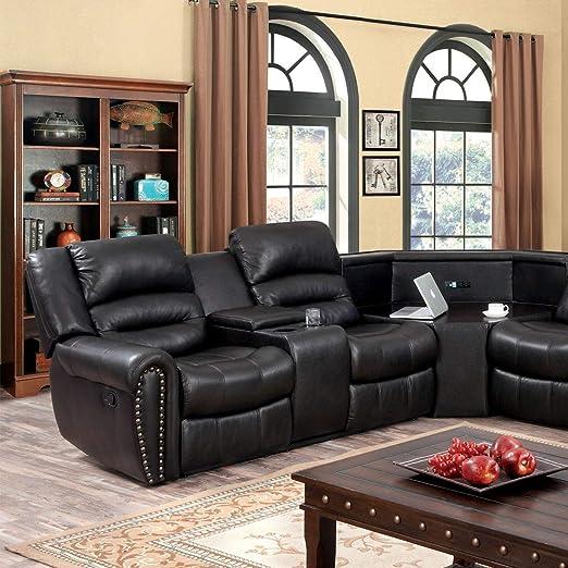 Amazon.com: Muebles de América Torrell café Oscuro ...