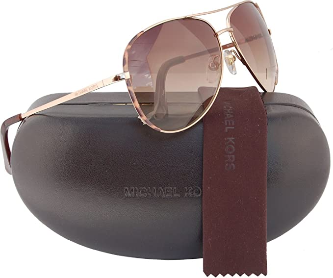 05d4a18a3eb9f Image Unavailable. Image not available for. Colour  Michael Kors M2045S  Sicily Aviator Sunglasses ...