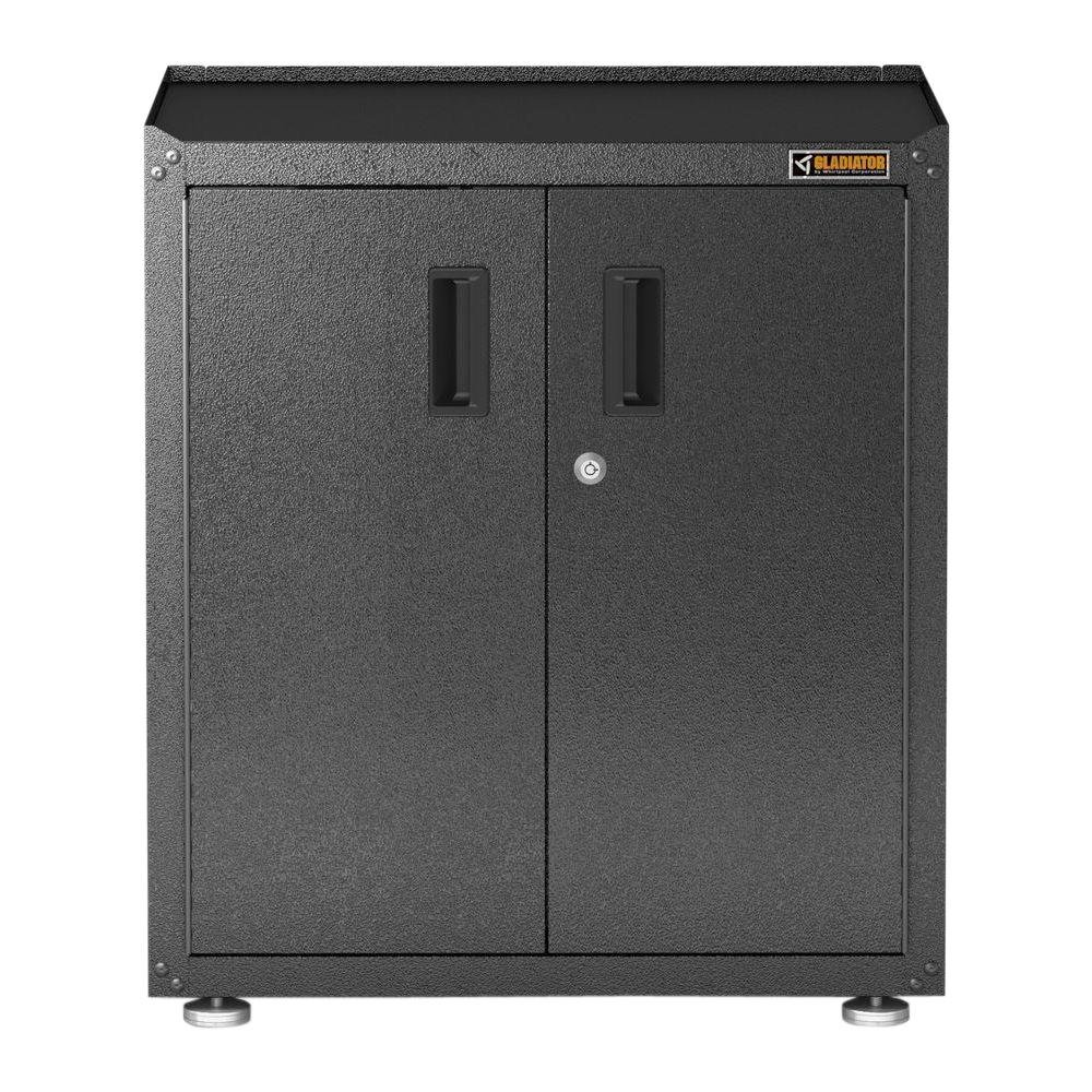 Gladiator GAGB28FDESG RTA Full-Door Modular Gearbox Cabinet, Dark Gray by Gladiator