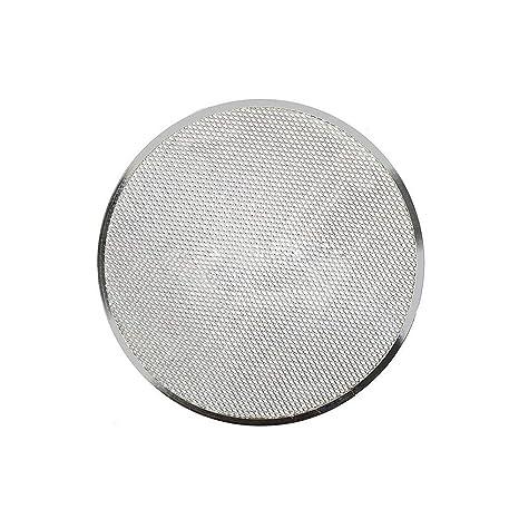 6-14 Aluminium Flat Mesh Pizza Screen Oven Baking Tray Net Bakeware Cookware Non-Stick Pizza Tray 8 inch 6 Inch