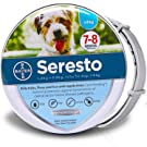 Laxtto Adjustable Flea Tick Collar Natural Safe Suitable For Large Medium Small Pets Fleas and Tweezers Collars 8-month Efficient Protection Repellent Locust For Dogs Cats (Smalldog)