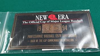New Era Major League Baseball Back of the Cap Medallion 125th Anniversary Pin