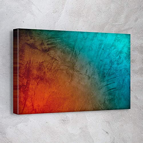 """AWESOMETIK"" Abstract Marble Modern Trendy Canvas Print Wall Art"