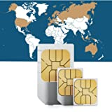 5GB of Mobile Internet data sim card to use in Global 1 (42 countries) worldwide for 30 Days Rechargeable