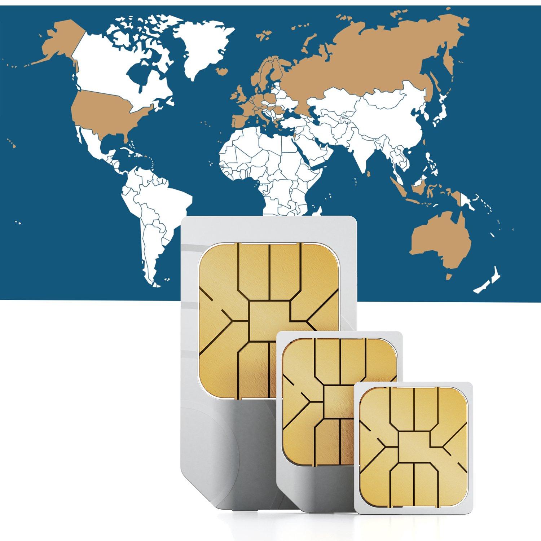 travsim Global Internet SIM para 30 Países - Prepaid datos ...