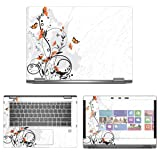 """decalrus - Protective Decal Skin Sticker for HP EliteBook X360 1030 G2 (13.3"""" Screen) case Cover wrap HPelitebk1030g2-184"""