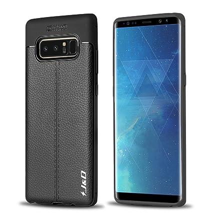 Amazon.com: Galaxy Note 8 Caso, [ligero Parachoques ...