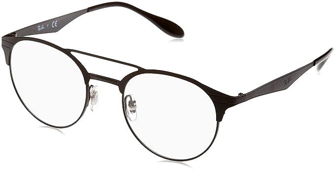 amazon ray ban men s rx3545v eyeglasses black matte black 49mm Ray-Ban Aviator Medium ray ban men s rx3545v eyeglasses black matte black 49mm