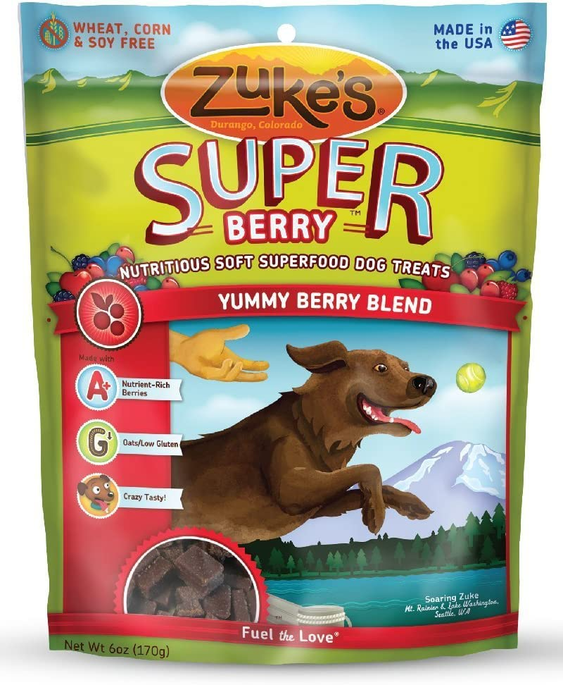 Zuke s SuperFood Blend Dog Treats
