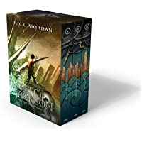 Percy Jackson and the Olympians 5 Book Paperback Boxed Set by Rick Riordan - Paperback