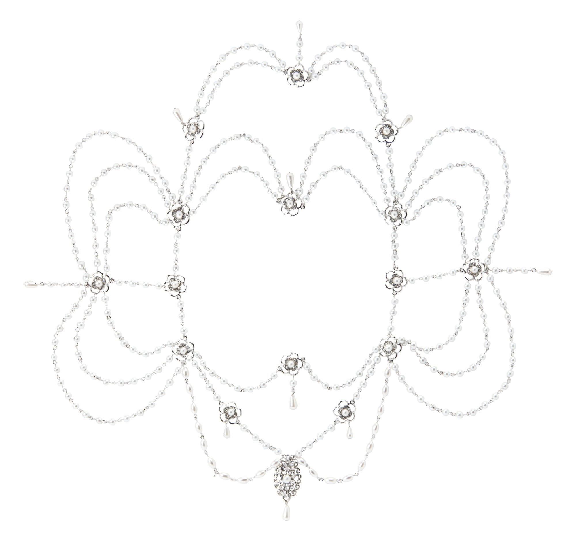 The Paragon Shoulder Necklace - Wedding Body Statement Jewelry