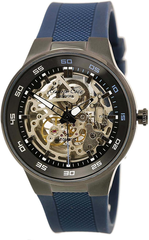 Kenneth Cole New York Men s 10022784 Analog Display Japanese Quartz Blue Watch