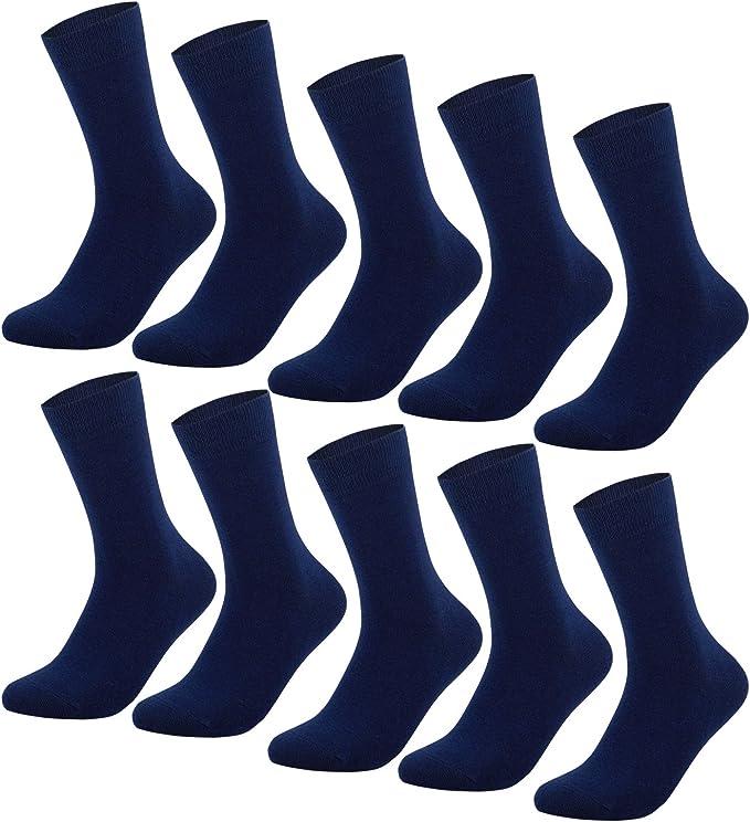 YouShow Calcetines Hombre Mujer Calcetines de Algodón Unisex 5|10 ...