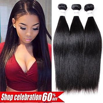 3/4 Bundles Luvin Brazilian Hair Weave Bundles Remy Hair 3 Bundles Lots Body Wave 100% Human Hair Extensions 30 Inch Bundles Natural Color Skilful Manufacture