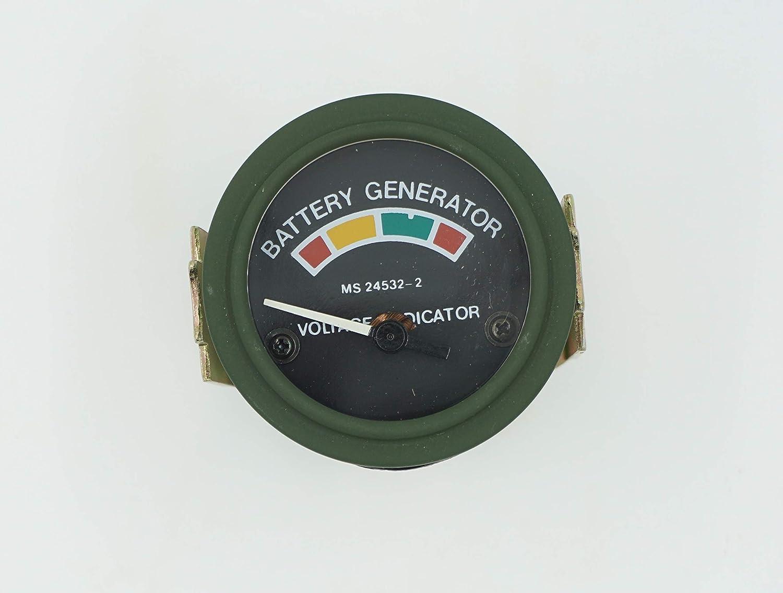 Voltmeter Omnia Warehouse MS24532-2 Gauge MS24532-2 5559024920