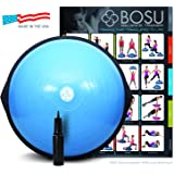 BOSU Balance Trainer, 65cm Blue, With Pump, Chart & 6 DVD's