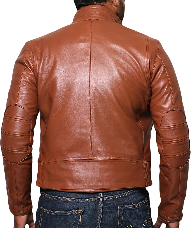 1501314 Black, Racer Jacket Laverapelle Mens Genuine Lambskin Leather Jacket