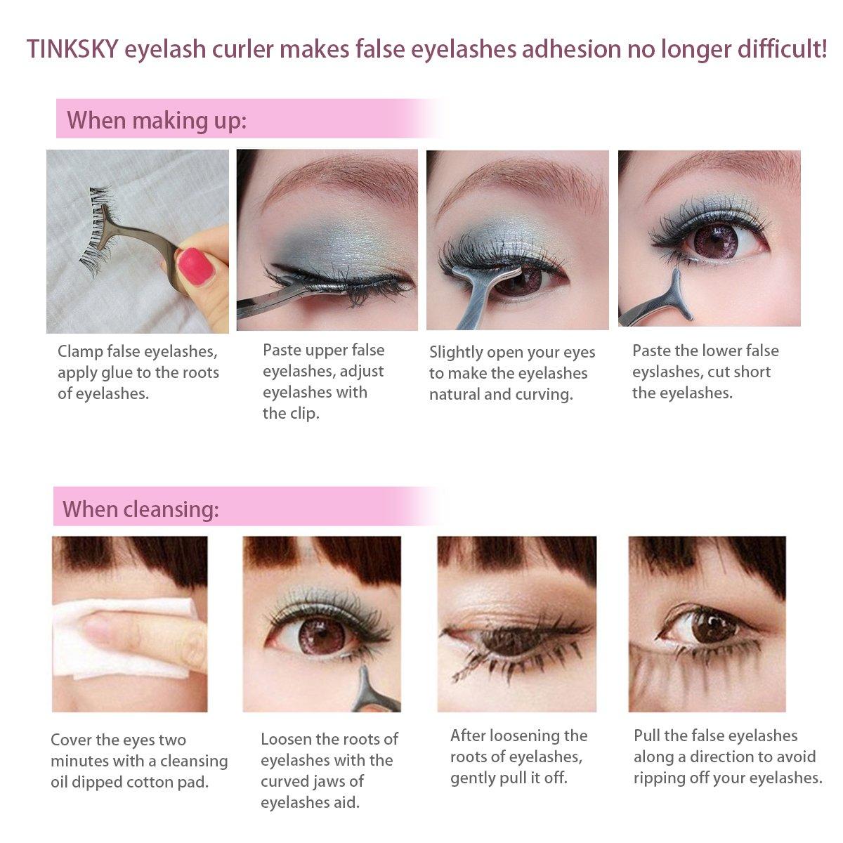 Amazon Tinksky False Eyelashes Extension Applicator Remover
