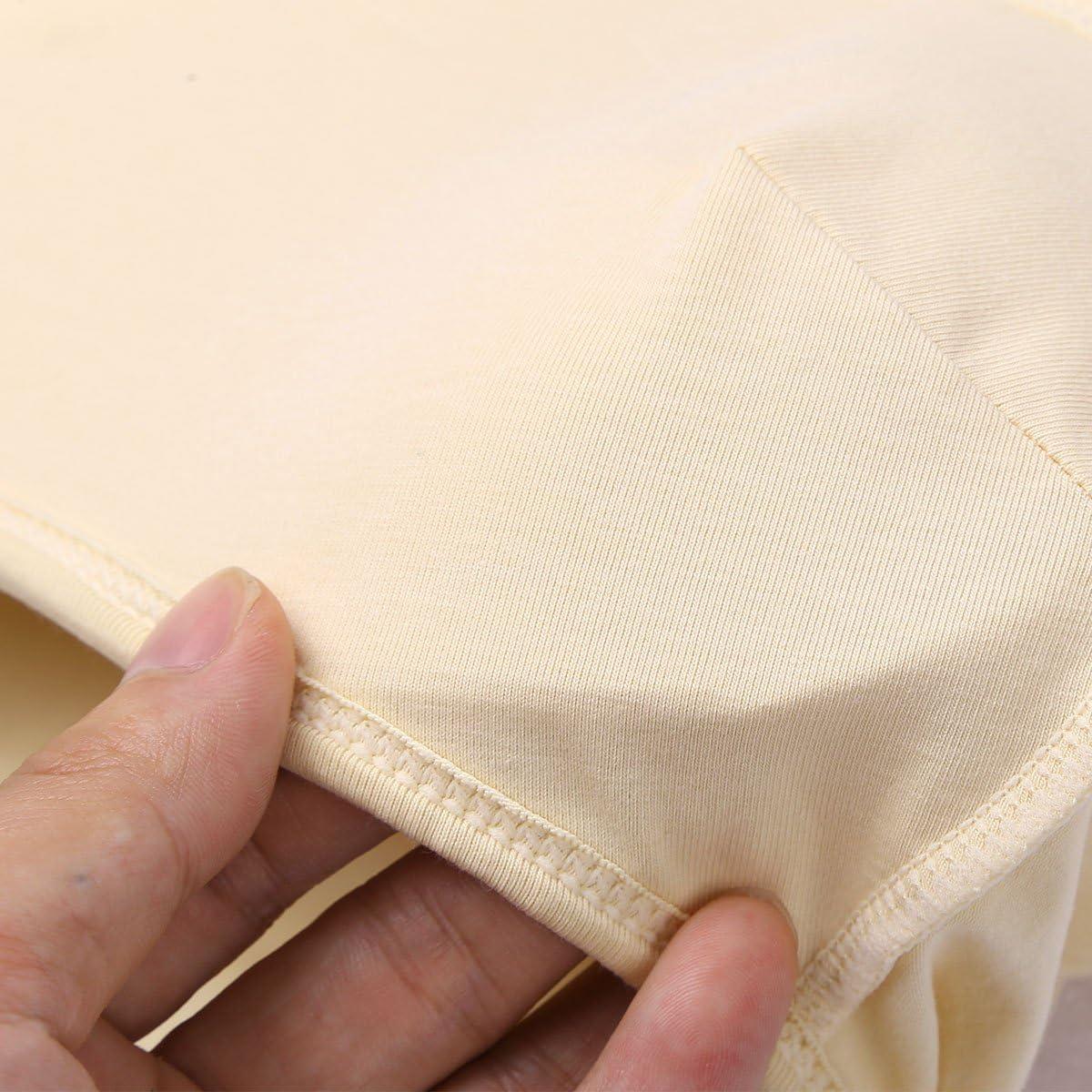 FEESHOW Mens Hiding Gaff Panties Breathable Shaping Briefs Underwear for Crossdresser Transgender