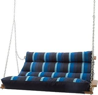 product image for Hatteras Hammocks Sunbrella Deluxe Cushion Swing - Gateway Indigo