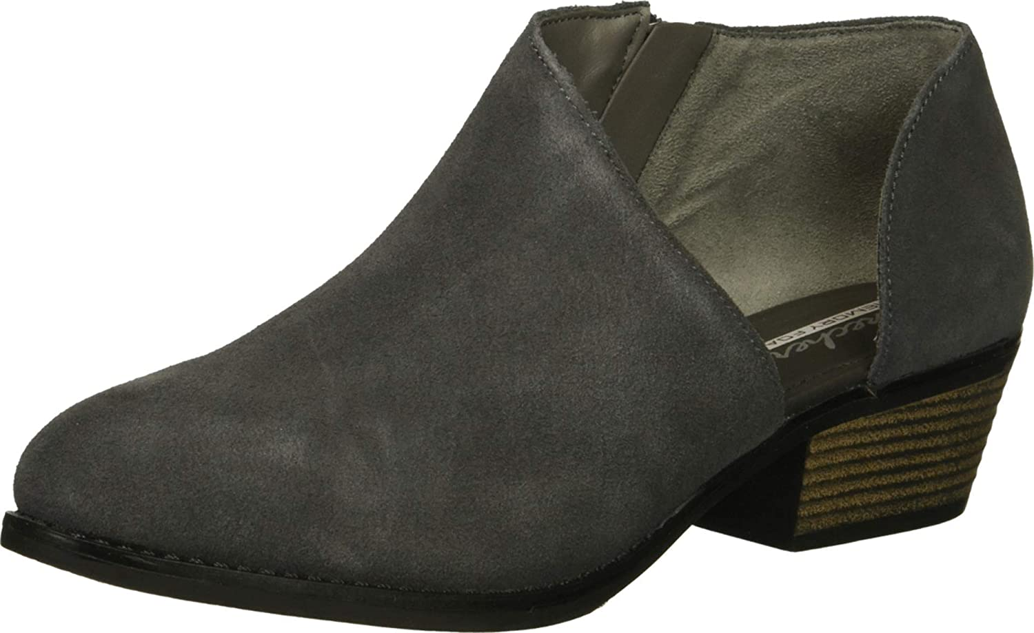Skechers Women's Lasso-Vacinity-Short Asymmetrical Bootie Ankle Boot