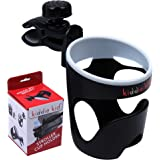 Kiddie Kid- Stroller Cup Holder, Universal, Fits Most Strollers, Wheelchairs, Rollators, Walkers, Bicycles, Perfect For Baby Bottles & Smaller Cups