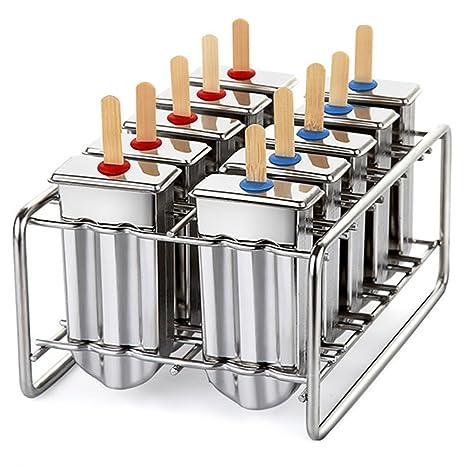 Amazon com: kingleder Stainless Steel Ice Lolly Popsicle