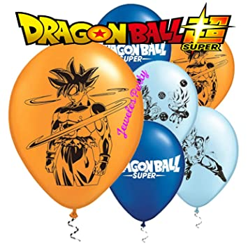 12PC New Dragon Ball Z Super Goku Dragonball Latex Balloons Party Supplies Decorations Balloon Favors