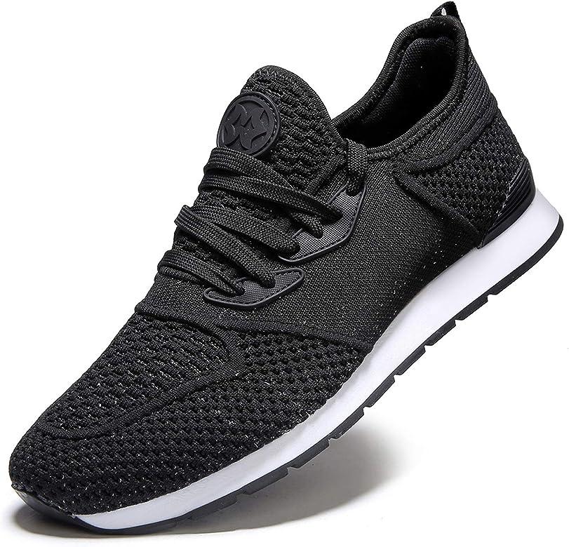 Zapatillas de Deporte Hombres Running Zapatos para Correr y Asfalto Aire Libre y Deportes Calzado Ligero Transpirables Gimnasio Sneakers: Amazon.es: Zapatos y complementos