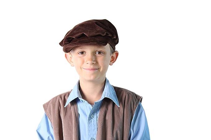 Morris Costume Men/'s Renaissance Floppy Authentic Elastic Beret Black Hat GC159