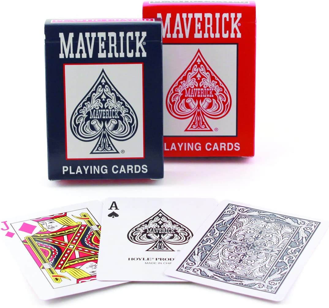 Colors May Vary Maverick Standard Index Playing Cards 1 CT Games ...
