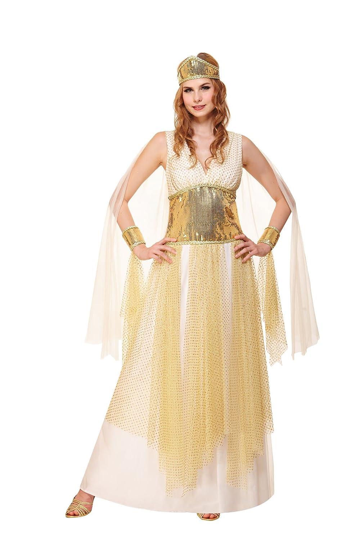 White gold M HGM Costume Women's Goddess Of Beauty
