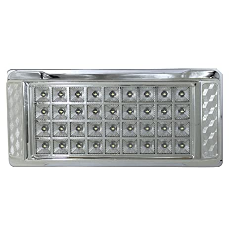 12v LEDlight Rectangle RV Door Lighting   42 LED Bright Dome Light   8.2inch