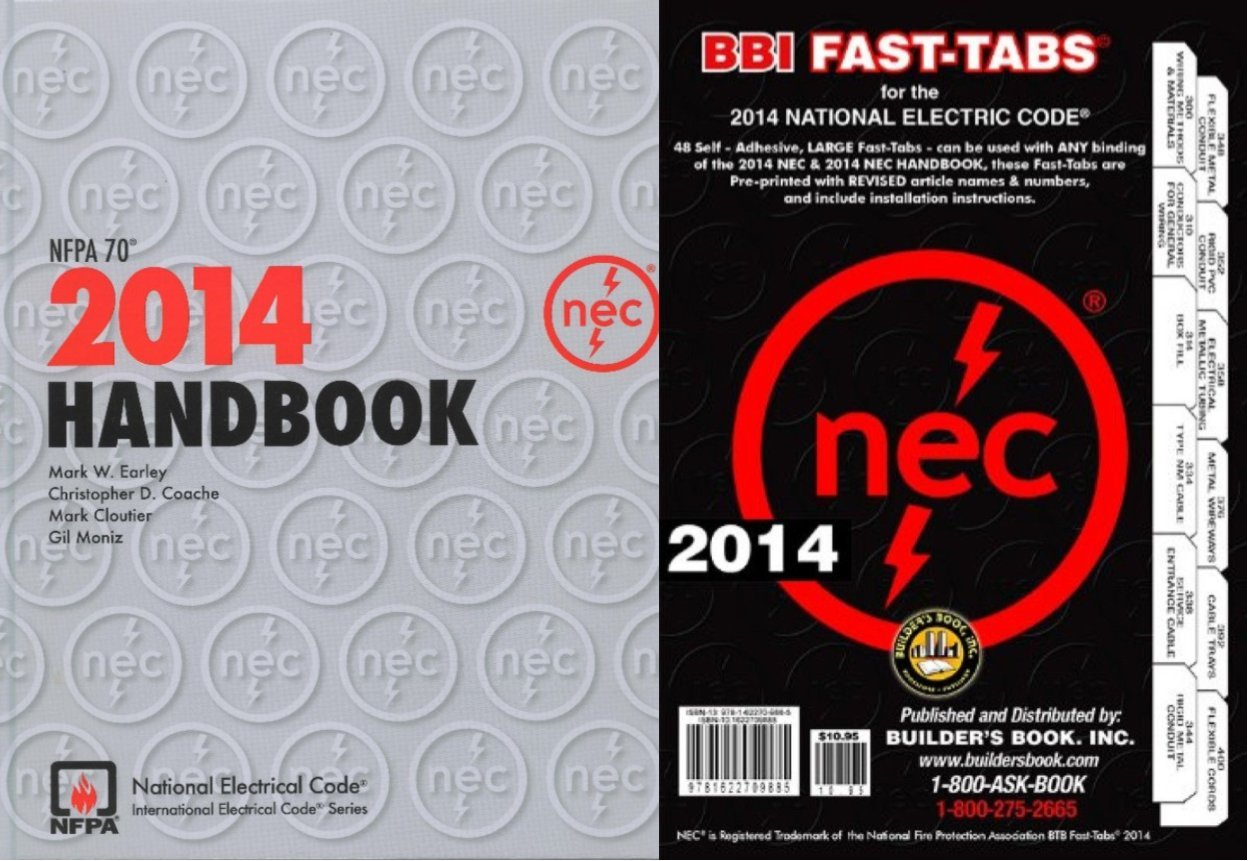 NFPA 70: National Electrical Code (NEC) Handbook, 2014 Edition with Fast Tabs Set