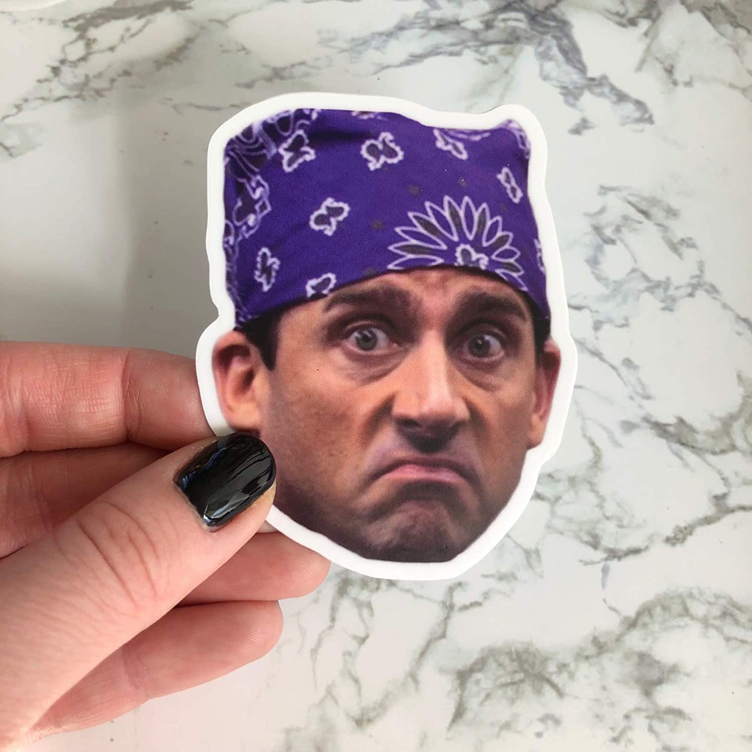 """michael scott stickers /""""prison mike/"""" The Office."""