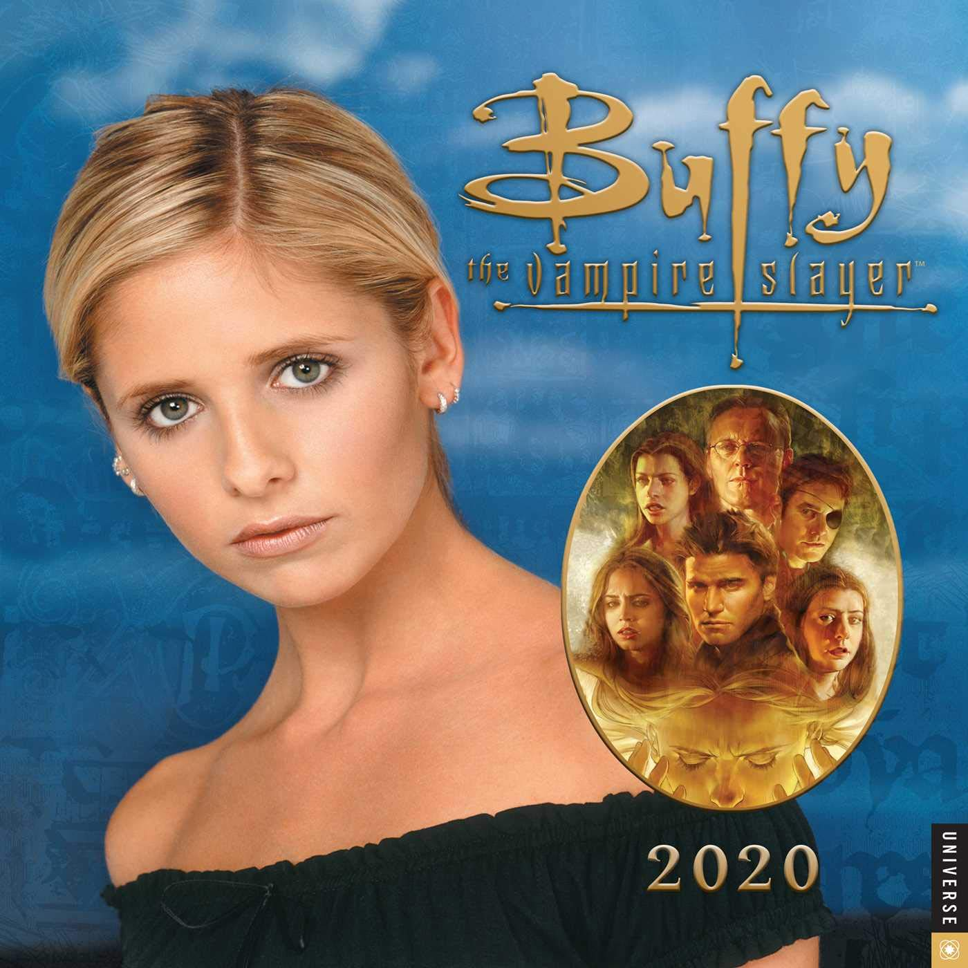 Slayer Tour 2020 Buffy the Vampire Slayer 2020 Wall Calendar: 20th Century Fox