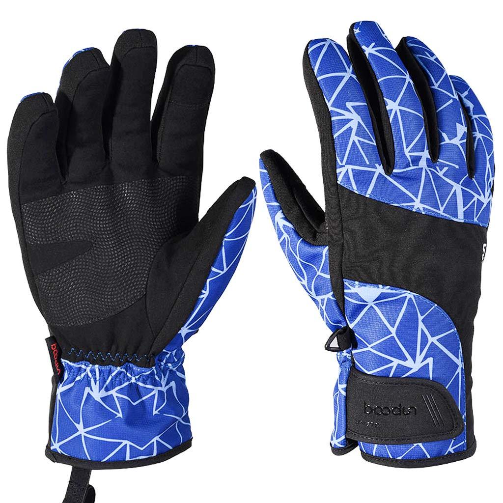 Ski Gloves Touchscreen Warm Men Women Waterproof Outdoor Windproof Full Finger HongyingTradingCo. LTD