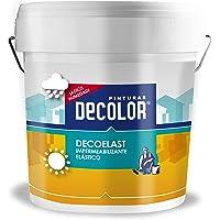 Deco-Elast.Revestimiento impermeabilizante elástico. 750 ml Gris .Pinturas DECOLOR